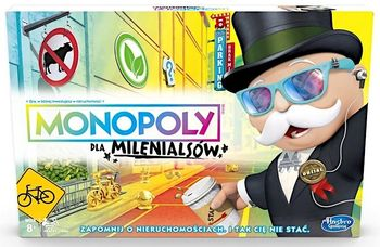 Gra ekonomiczna HASBRO Monopoly dla Mileniasów E4989