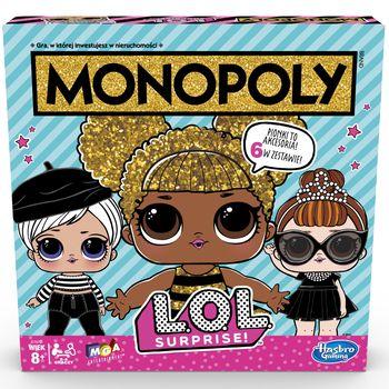 Gra ekonomiczna HASBRO Monopoly LOL E7572