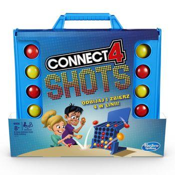 Gra HASBRO Connect 4 Shots E3578