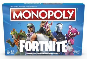 Gra HASBRO Monopoly Fortnite E6603