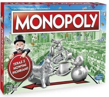 Gra rodzinna HASBRO Monopoly Standard z figurką kota 00009