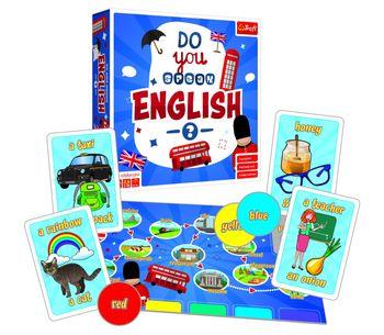 Gra TREFL Do you speak English?