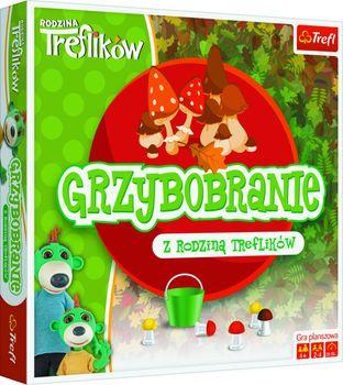 Gra TREFL Rodzina Treflików Grzybobranie