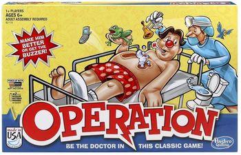Gra zręcznościowa HASBRO Operacja B2176