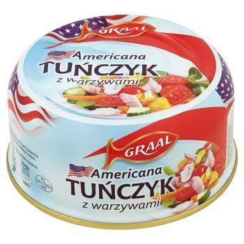 GRAAL Americana Tuńczyk z warzywami 280 g