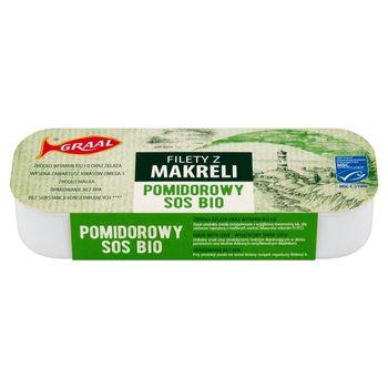 GRAAL Filety z makreli pomidorowy sos bio 120 g