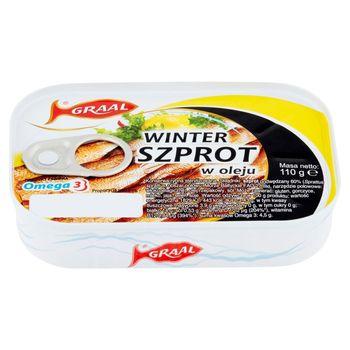 GRAAL Winter Szprot w oleju 110 g