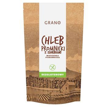 Grano Chleb promnicki z ziarnami bezglutenowy mieszanka piekarnicza 500 g