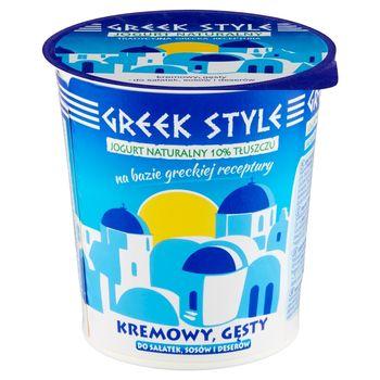 Greek Style Jogurt naturalny 10% tłuszczu 340 g