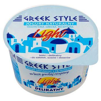 Greek Style Jogurt naturalny 3,5% tłuszczu 180 g