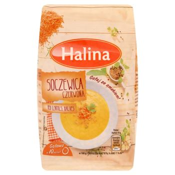 Halina Soczewica czerwona 500 g