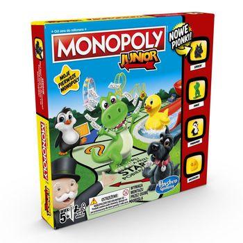HASBRO Gra rodzinna  Monopoly Junior A6984