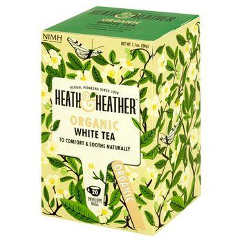 Heath & Heather Herbata biała ekologiczna 30 g (20 saszetek)