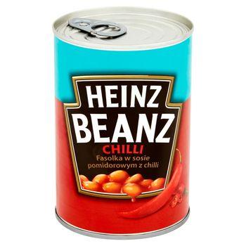 Heinz Beanz Fasolka w sosie pomidorowym z chilli 390 g