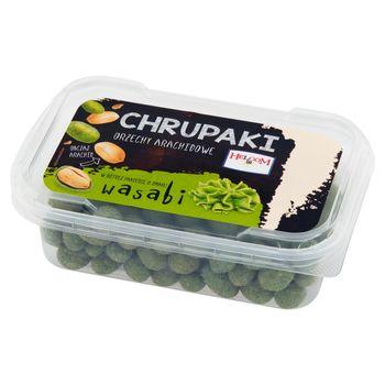 Helcom Chrupaki Orzechy arachidowe w ostrej panierce o smaku wasabi 130 g