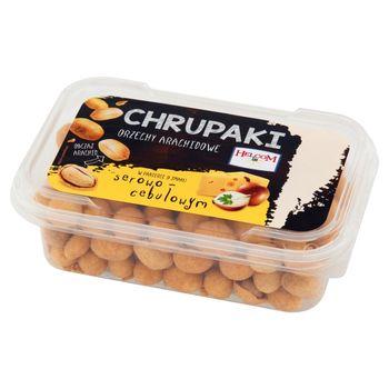 Helcom Chrupaki Orzechy arachidowe w panierce o smaku serowo-cebulowym 130 g