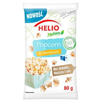 Helio Natura Popcorn light do mikrofalówki 80 g