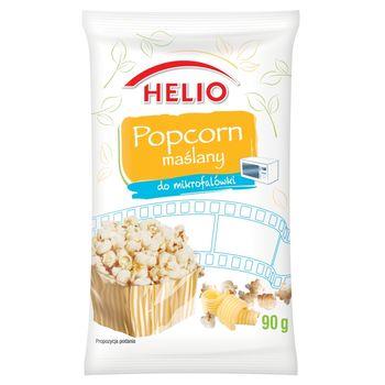 Helio Popcorn maślany do mikrofalówki 90 g