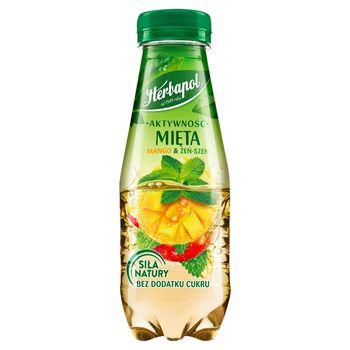 Herbapol Aktywność Napój owocowo-ziołowy mięta mango & żeń-szeń 300 ml