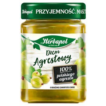 Herbapol Dżem agrestowy o obniżonej zawartości cukru 280 g