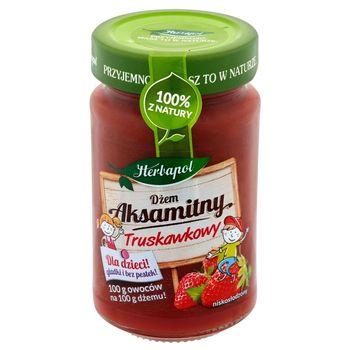 Herbapol Dżem aksamitny truskawkowy niskosłodzony 240 g