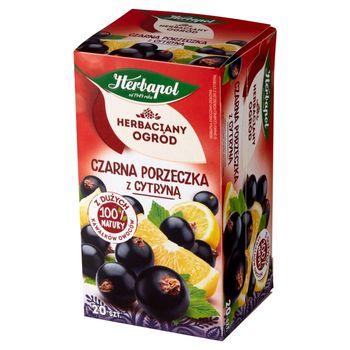 Herbapol Herbaciany Ogród Herbatka owocowo-ziołowa czarna porzeczka z cytryną 54 g (20 x 2,7 g)