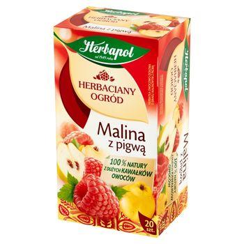 Herbapol Herbaciany Ogród Herbatka owocowo-ziołowa malina z pigwą 54 g (20 x 2,7 g)