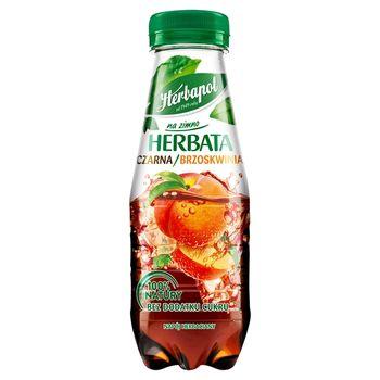 Herbapol na zimno Herbata czarna brzoskwinia 300 ml