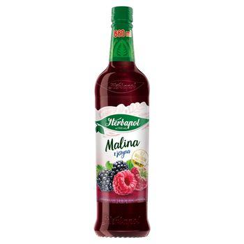 Herbapol Suplement diety syrop o smaku malinowo-jeżynowym 680 ml
