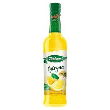 Herbapol Owocowa Spiżarnia Syrop cytryna 420 ml