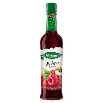 Herbapol Owocowa Spiżarnia Syrop owocowy malina z dziką różą 420 ml