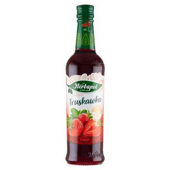 Herbapol Suplement diety syrop o smaku truskawkowym 420 ml