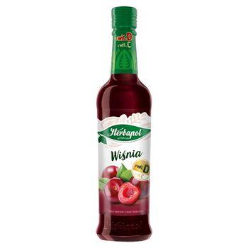 Herbapol Owocowa Spiżarnia Syrop owocowy wiśnia 420 ml