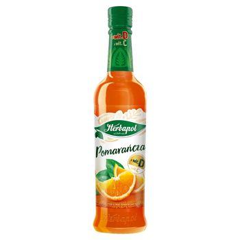 Herbapol Syrop o smaku pomarańcza 420 ml