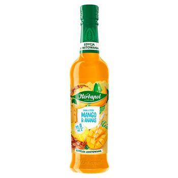 Herbapol Syrop o smaku mango & ananas 420 ml