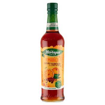 Herbapol Suplement diety syrop o smaku pomarańczowym z goździkami i cynamonem 420 ml
