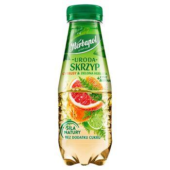 Herbapol Uroda Napój owocowo-ziołowy skrzyp cytrusy & zielona herbata + cynk biotyna 300 ml