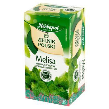 Herbapol Zielnik Polski Herbatka ziołowa melisa 40 g (20 x 2 g)