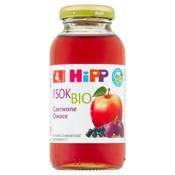 HiPP BIO Sok 100% czerwone owoce po 4. miesiącu 0,2 l