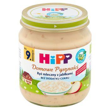 HiPP BIO Domowe Pyszności Ryż mleczny z jabłkami po 9. miesiącu 200 g