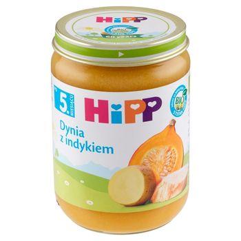 HiPP BIO Dynia z indykiem po 5. miesiącu 190 g