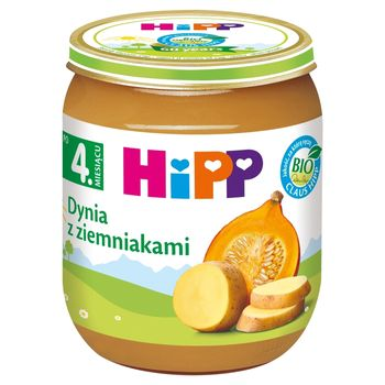 HiPP BIO Dynia z ziemniakami po 4. miesiącu 125 g