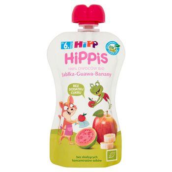 HiPP BIO HiPPiS Jabłka-Guawa-Banany Mus owocowy po 6. miesiącu 100 g