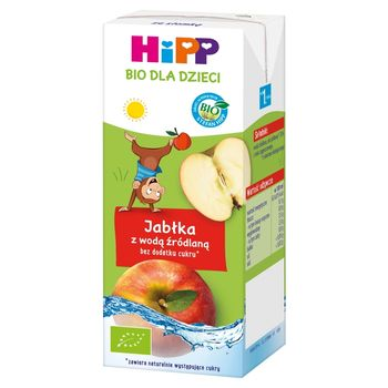 HiPP BIO Jabłka z wodą źródlaną dla dzieci od 1. roku 200 ml