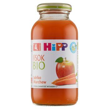 HiPP BIO Sok 100% jabłko marchew po 4. miesiącu 0,2 l