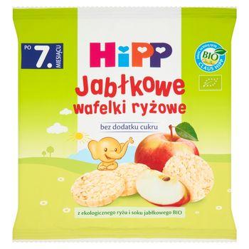 HiPP BIO Jabłkowe wafelki ryżowe po 7. miesiącu 30 g