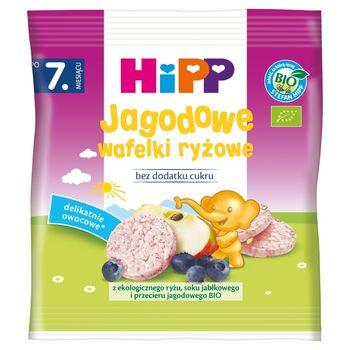 HiPP BIO Jagodowe wafelki ryżowe po 7. miesiącu 30 g