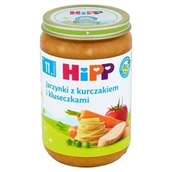 HiPP BIO Jarzynki z kurczakiem i kluseczkami po 11. miesiącu 220 g