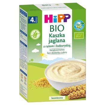 HiPP BIO Kaszka jaglana z ryżem i kukurydzą po 4. miesiącu 200 g