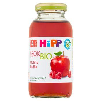 HiPP BIO Sok 100% maliny-jabłka po 4. miesiącu 0,2 l
